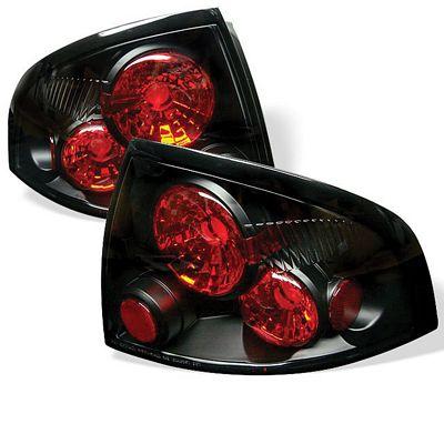 Nissan Sentra 2000-2003 Black Altezza Tail Lights