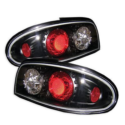 Nissan Altima 1993-1997 Black Altezza Tail Lights