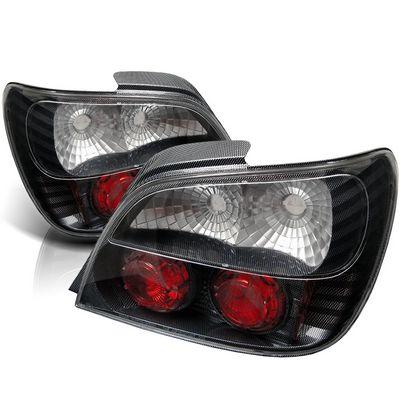 Subaru Impreza 2002-2003 Carbon Fiber Altezza Tail Lights