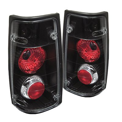 Isuzu Rodeo 1991-1994 Black Altezza Tail Lights