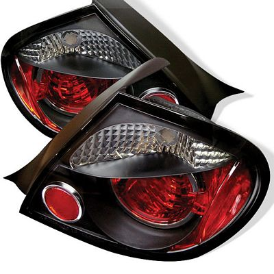 Dodge Neon 2003-2005 Black Altezza Tail Lights