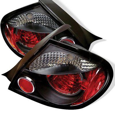Dodge Neon 2003-2005 Black Altezza Tail Lights