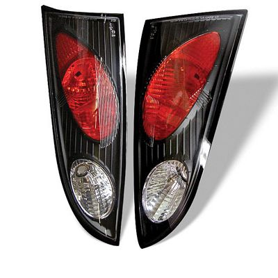 Ford Focus 5DR Hatchback 2000-2004 Black Altezza Tail Lights