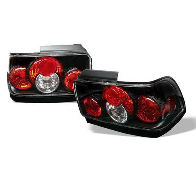 Toyota Corolla 1993-1995 Black Altezza Tail Lights