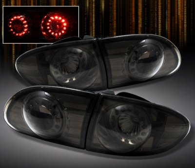 Chevy Cavalier 1995 2002 Smoked Led Tail Lights