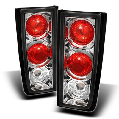 Hummer H2 2001 2005 Clear Altezza Tail Lights