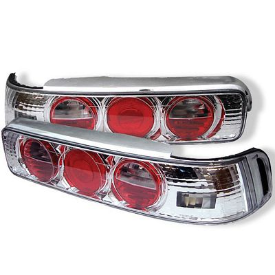 Acura Integra Coupe 1990-1993 Clear Altezza Tail Lights
