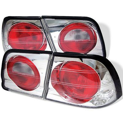 Nissan Maxima 1995-1996 Clear Altezza Tail Lights