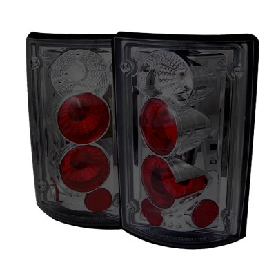 Ford Econoline Van 1995-2006 Smoked Altezza Tail Lights
