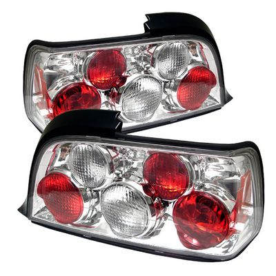 BMW E36 Coupe 3 Series 1992-1998 Clear Altezza Tail Lights