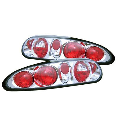 Chevy Camaro 1993-1997 Clear Altezza Tail Lights