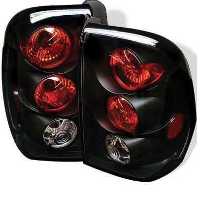 Chevy Trail Blazer 2002-2009 Black Altezza Tail Lights