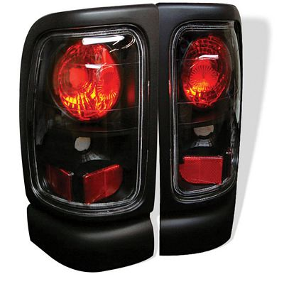 Dodge Ram 1994-2001 Black Altezza Tail Lights