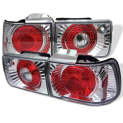 Honda Accord Sedan 1992-1993 Clear Altezza Tail Lights