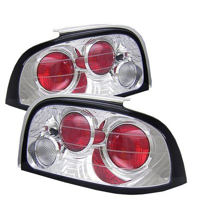 Ford Mustang 1994-1995 Clear Altezza Tail Lights