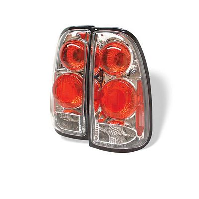 Toyota Tundra 2000-2006 Clear Altezza Tail Lights