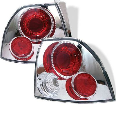 Honda Accord 1994-1995 Clear Altezza Tail Lights