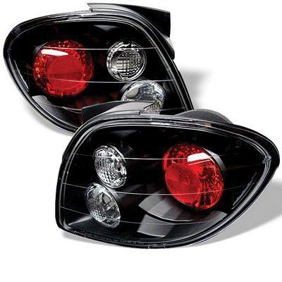 Hyundai Tiburon 2000-2002 Black Altezza Tail Lights