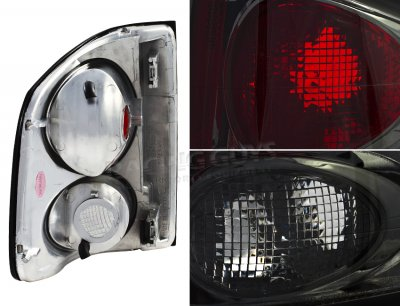 Chevy S10 1994-2004 Smoked Altezza Tail Lights