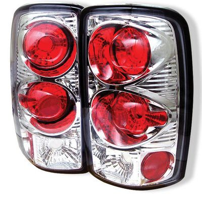 Chevy Suburban 2000-2006 Clear Altezza Tail Lights