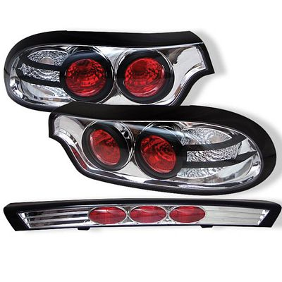 Mazda RX7 1993-2001 Clear Altezza Tail Lights