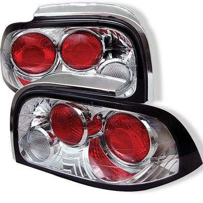 Ford Mustang 1996-1998 Clear Altezza Tail Lights