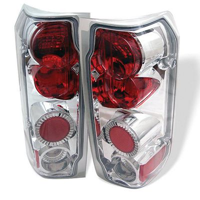 Ford Bronco 1989-1996 Clear Altezza Tail Lights