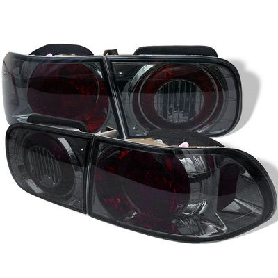 Honda Civic 1992-1995 Smoked Altezza Tail Lights