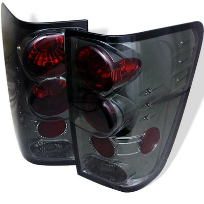 Nissan Titan 2004-2006 Smoked Altezza Tail Lights