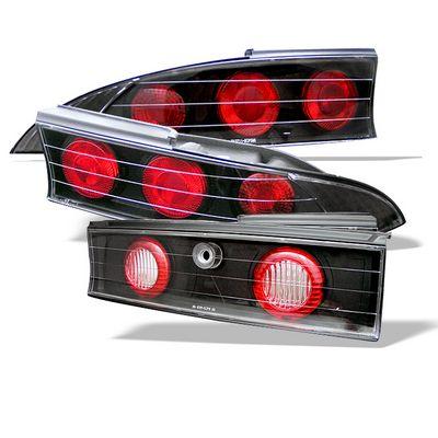 Mitsubishi Eclipse 1995-1999 Black Altezza Tail Lights