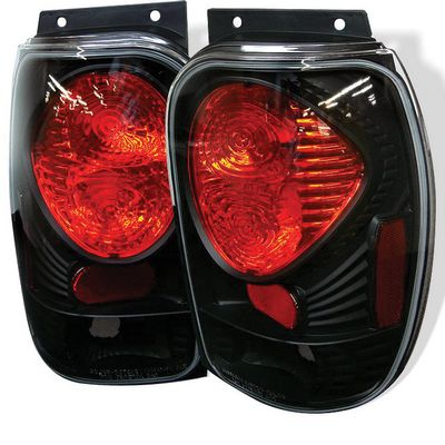Ford Explorer 1998-2001 Black Altezza Tail Lights