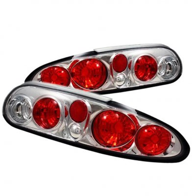 Chevy Camaro 1997-2001 Clear Altezza Tail Lights