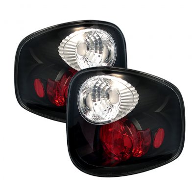 Ford F150 Flareside 1997-2003 Black Altezza Tail Lights