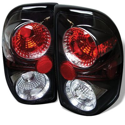 Dodge Dakota 1997-2004 Black Altezza Tail Lights