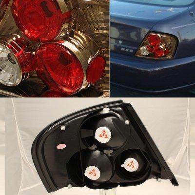 Nissan Altima 1998 2001 Dark Chrome Altezza Tail Lights A1037bav110 Topgearautosport