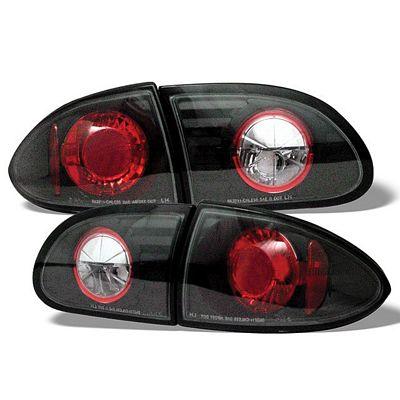 Chevy Cavalier 1995-2002 Black Altezza Tail Lights