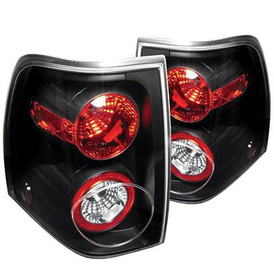 Ford Expedition 2003-2006 Black Altezza Tail Lights