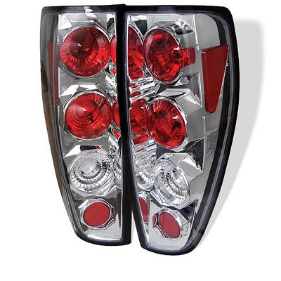 Chevy Colorado 2004-2012 Clear Altezza Tail Lights
