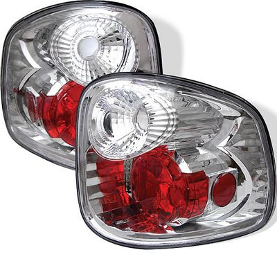Ford F150 Flareside 1997-2003 Clear Altezza Tail Lights
