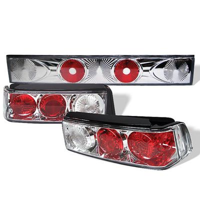 Honda Civic Hatchback 1988-1991 Clear Altezza Tail Lights