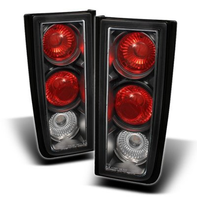 Hummer H2 2001-2005 Black Altezza Tail Lights