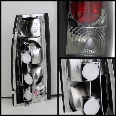 Chevy 2500 Pickup 1988-1998 Smoked Altezza Tail Lights