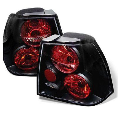VW Jetta 1999-2004 Black Altezza Tail Lights