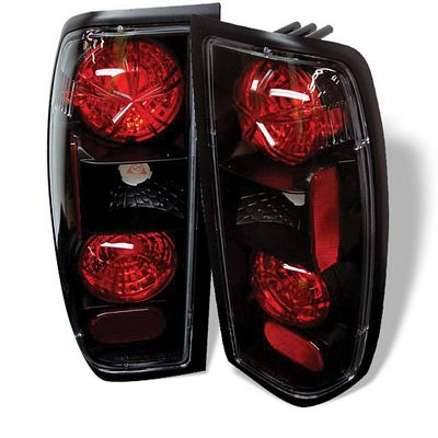 Nissan Frontier 1998-2004 Black Altezza Tail Lights