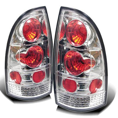 Toyota Tacoma 2005-2007 Clear Altezza Tail Lights