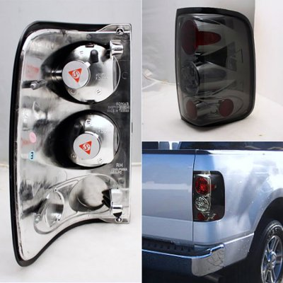 Ford F150 2004-2008 Smoked Altezza Tail Lights