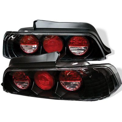 Honda Prelude 1997-2001 JDM Black Altezza Tail Lights
