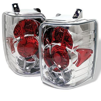 Jeep Grand Cherokee 1993-1998 Clear Altezza Tail Lights
