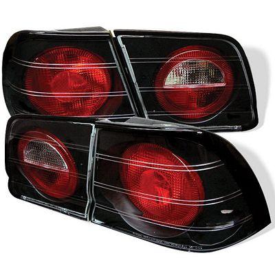 Nissan Maxima 1995-1996 Black Altezza Tail Lights