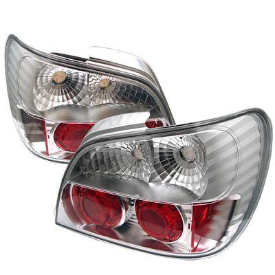Subaru Impreza 2002-2003 Clear Altezza Tail Lights